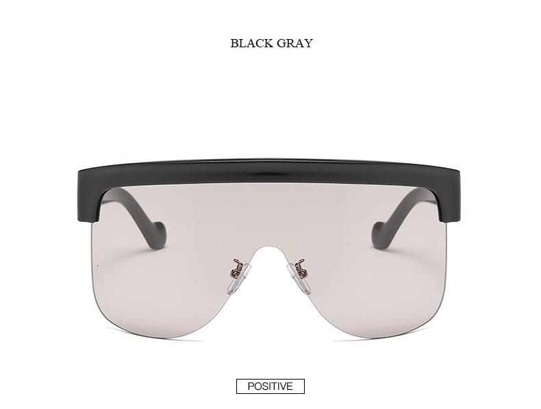 Best Sale #a58f Super Big Frame Rimless Windproof Outdoor