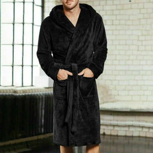Fashion New Hot Sale Mens Ladies Cotton Terry Towelling Shawl Bathrobe Gown Bath Robe