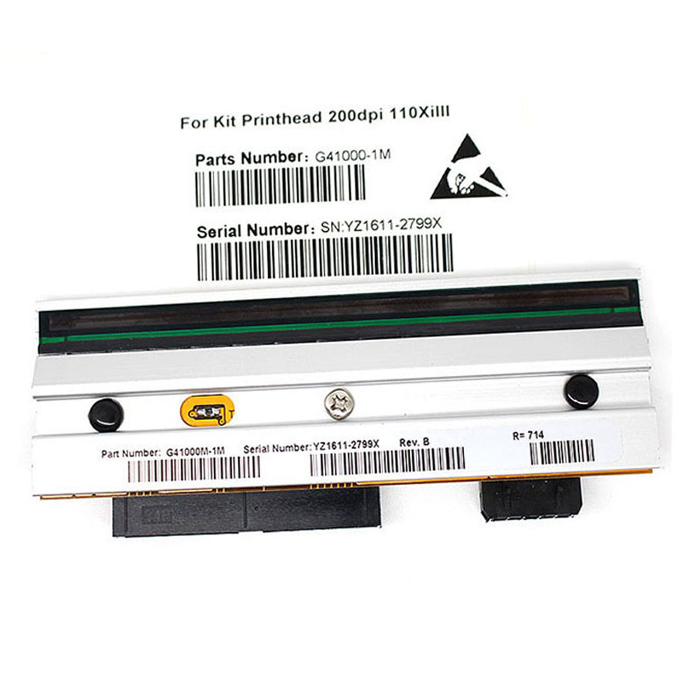New Print Head G41000-1M For Zebr 110XI3 Barcode Printer Parts Printhead 200DPI Print Width:104MM