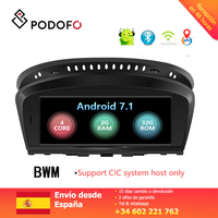 Podofo 8.8'' Car Multimedia Player Radio Android 7.1 Touch Screen WIFI Bluetooth for BMW 3 Series E90 (2009 2012) CCC System