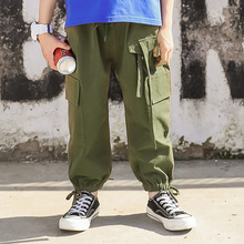 Amy Green Kids Cargo Pants 2019 Spring Casual Boys Pants Children Trousers England Style Kids Pants New Brand Boysl Clothing цены онлайн