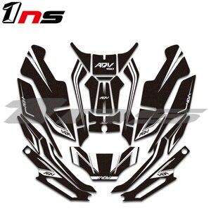 Nueva almohadilla adhesiva para carrocería de motocicleta, protección contra arañazos, pegatina decorativa, kit de calcomanías para Honda ADV 150 adv150