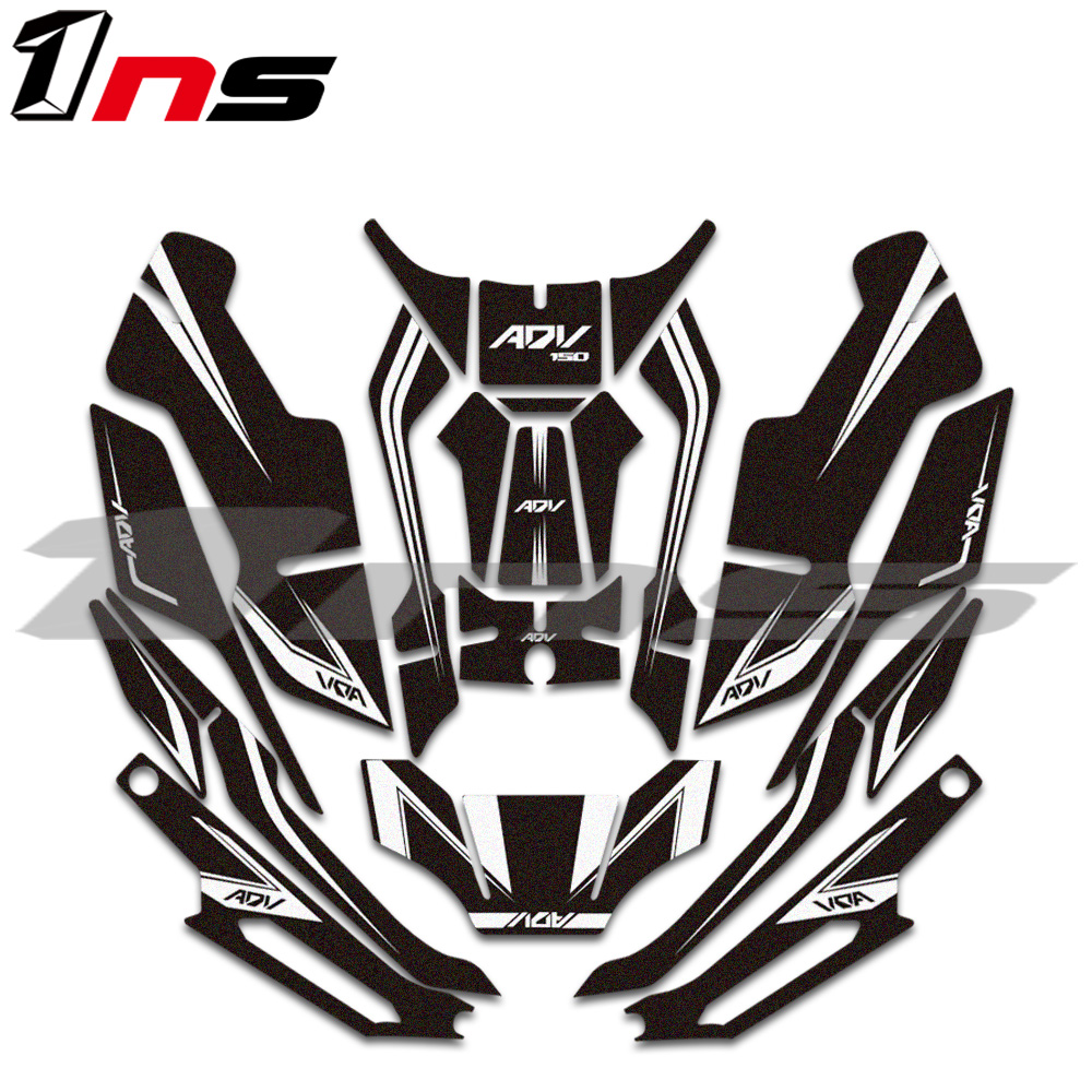 new Motorcycle Body paste tank pad sticke protection Prevent scratc decorative <font><b>sticker</b></font> decals <font><b>kit</b></font> For <font><b>Honda</b></font> ADV <font><b>150</b></font> adv150 image