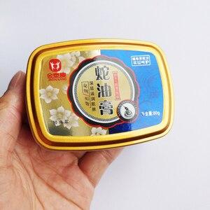 Image 5 - 80g Snake Oil Tender Hand Cream Hand Care Antibacterial Anti chapping Whitening Nourishing Anti Aging Skin Care Cream