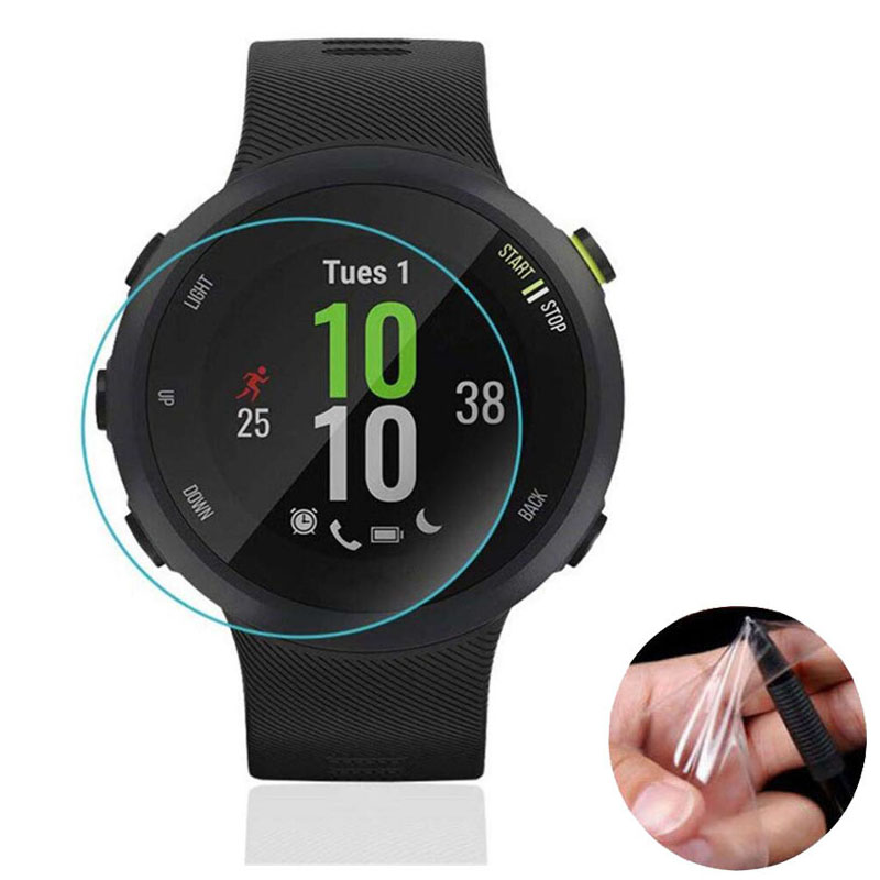 3pcs Soft Clear Protective Film Guard For Garmin Forerunner 45/45S FR45 Watch Smartwatch Full Screen Protector Cover (Not Glass)