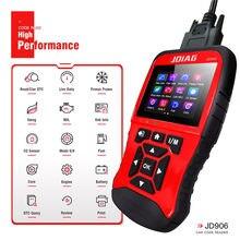 2021 novo lançamento! Jdiag jd906 leitor de código função super obd scanner automático suporte todos os tipos do modelo de carro pk kw518