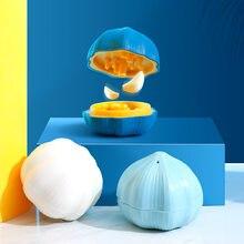 Kreatywny mini ręczny obrotowy czosnek naciskając młynek do kuchni imbir i czosnek sok rozdrabniacz skręcanie czosnek box
