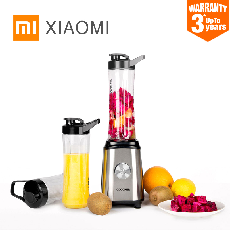 XIAOMI MIJIA QCOOKER CD-BL01 Fruit Vegetables blenders Cup Cooking Machine Portable Electric Juicer mixer Kitchen food processor(China)