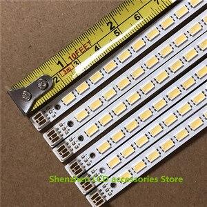 Image 4 - 10 adet/grup 72LEDs 520MM 46 aşağı LJ64 03035A LED şerit kızak 2011SGS46 5630 72 H1 REV0 için LTA460HQ12 LED46860iX LTA460H yeni