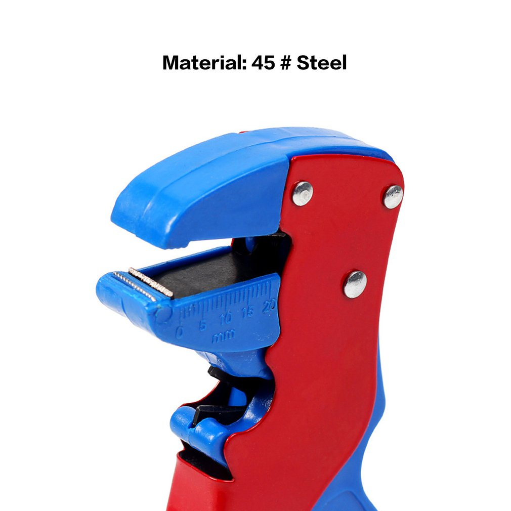 0.2-6 Square MM Adjustable Automatic Cable Wire Stripper With Cutter Duckbill Bend Nose Bolt Clippers Wire Stripping Tool