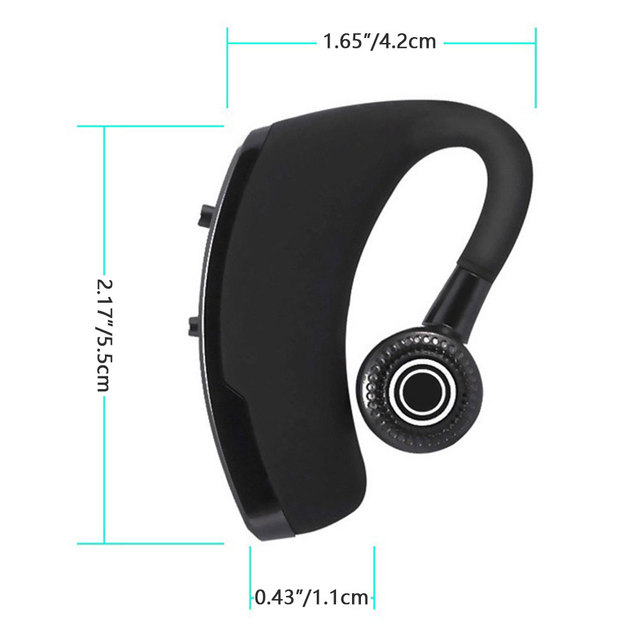 Headphone V9 Bluetooth-compatible Earphone Hands-free Wireless Headset Noise Control With Microphone High Quality Stereo Audio 3