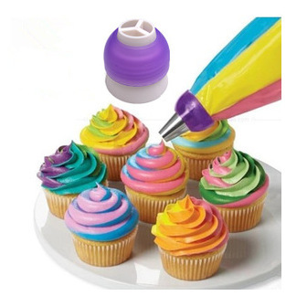 Three-Color Decorating Adapter 3-Hole 3 Color Pastry Cream Bags Adapter Coupler Baking Tool
