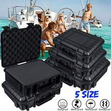 Portable Shockproof Instrument Tool Box Tools Case Safety Pr