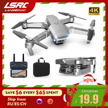 LSRC New E68pro Mini Drone Wide Angle 4K 1080P WiFi FPV Camera Drones Height Holding Mode RC Foldable Quadrotor Dron Toy Gift - discount item  62% OFF Remote Control Toys