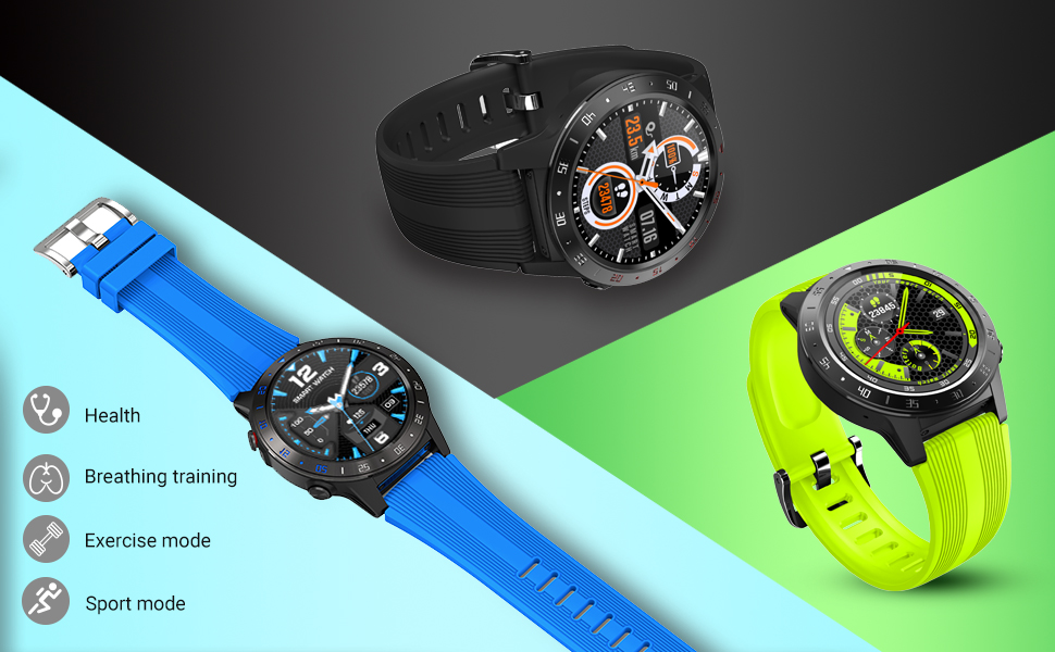 H0ded0428cb464d73acaf68af1ff646bfI GPS Smartwatch Men With SIM Card Fitness Compass Barometer Altitude M5 Mi Smart Watch Men Women 2021 for Android Xiaomi