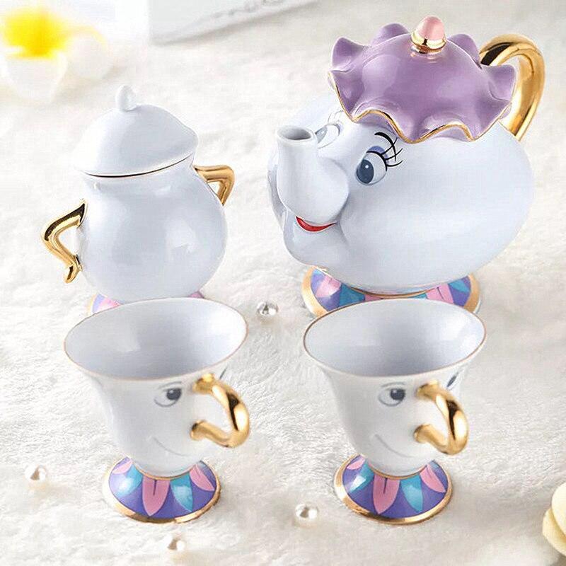 4 STUKS Mokken Koffie Maker Set Keramische Koffie Thee Set mokken Art Nice Home Decor - 2