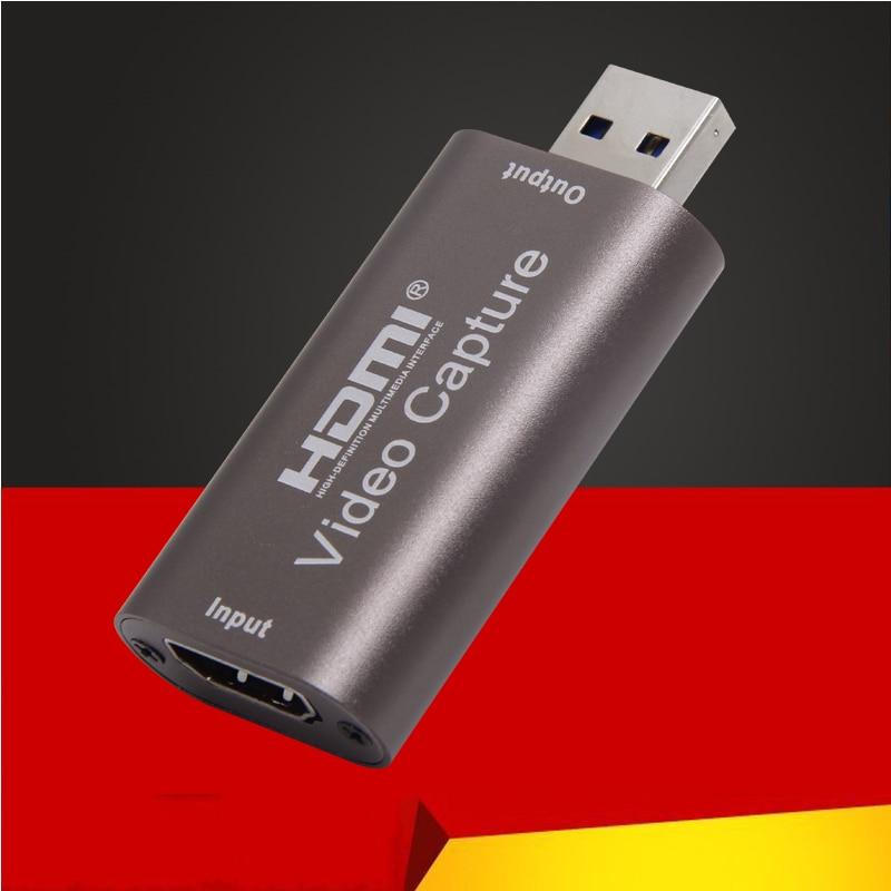Новый мини HD 1080P 60 кадров в секунду HDMI к USB видео захвата карты игра Запись коробка для компьютера Youtube OBS и т. Д. Потоковая трансляция в прямом ...