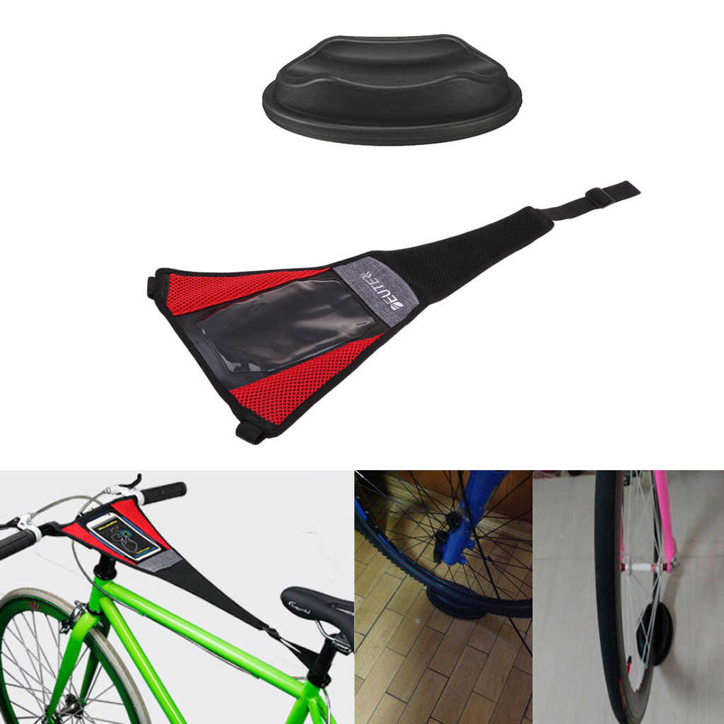 Indoor Trainer Rol Keringat Cover Frame Guard Tali Roda Riser