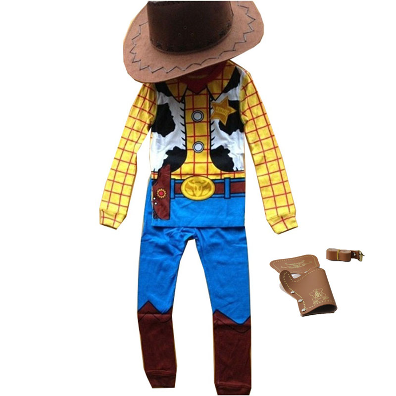 Adults Men Licensed Toy Story Woody Cowboy Costume Wild West Fancy Dress Outfit