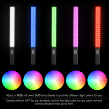 Yongnuo YN360 Pro Chụp Ảnh Chiếu Sáng Pro LED Video Đèn Studio Chụp Ảnh Selfie Ánh Sáng 5500K Nhiệt Độ RGB Full Màu Đèn