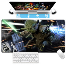 Star Wars Gaming Mouse Pad Darth Vader Figure Rubber Desk Keyboard Big Size Mouse Mat High Quality Creative Gift for Game-Player