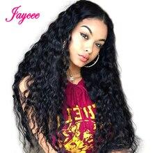 Fala wody peruka 360 koronka Frontal włosów ludzkich peruk dla czarnych kobiet Remy ludzki włos koronki peruka ludzki włos Perruque Cheveux Humain perruque Femme