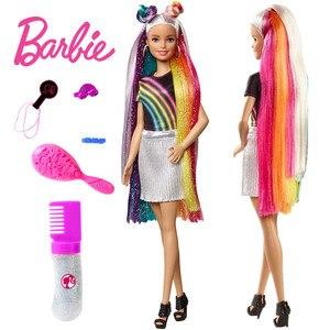 Barbie Rainbow Sparkle Hair Do