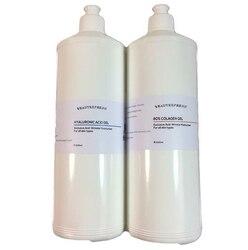 100% чистый Гиалуроновая кислота против старения коллагеновый гель морщин лифтинг наполнитель 2x250 мл