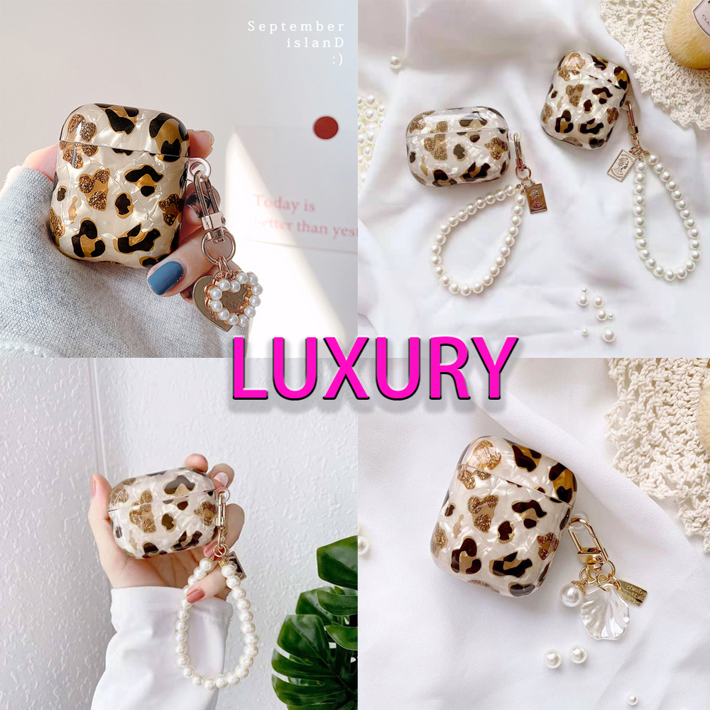 Luxury Leopard Airpod Earbud Holder
