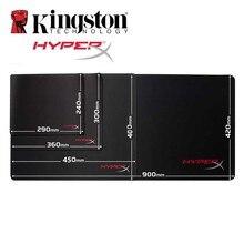 Kingston Muismat HyperX FURY S Pro Gaming Mouse Pad ขนาดใหญ่ HX MPFS SM M L XL ขนาด Professional Mousepad สำหรับ DotA 2 เกม CS GO