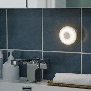 Image 4 - Oryginalny Xiaomi Mijia LED korytarz lampka nocna pilot na podczerwień czujnik ruchu ciała lampa Smar noc w domu