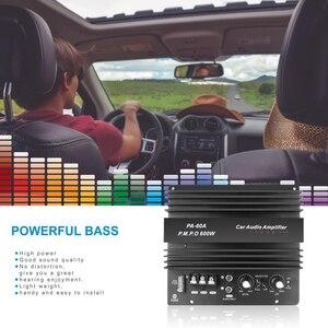 Image 4 - High Power 12V 600W Speaker Subwoofer Bass Module Car Audio Accessoires Mono Kanaal Duurzaam Lossless Diy Versterker Boord
