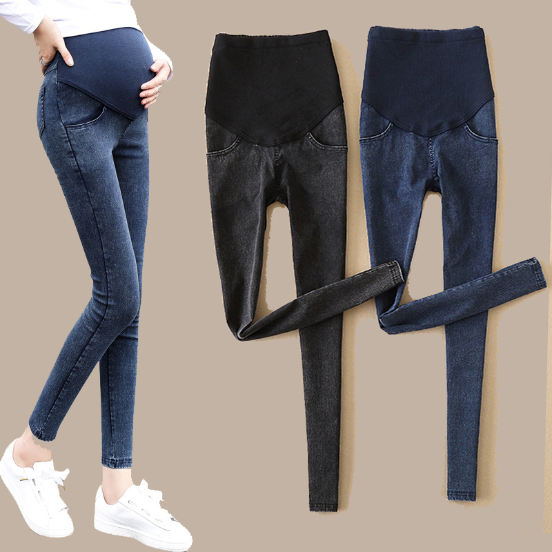 Denim Jeans Maternity Pants For Pregnant Women Clothes Nursing Pregnancy Leggings Trousers Gravidas Jeans Maternity Clothing