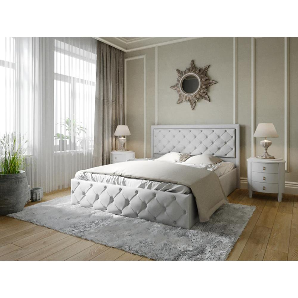 Bed. Bed Interior. Bed With каретной Headband. Каретная Coupler