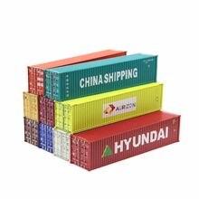 Ho Schaalmodel Trein Accessoires 40 Voeten Verzending Vracht Container Schaal 1: 87 Trein Modelspoor