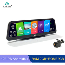 Anfilite Android 8 1 2GB+32GB 10 #8243 IPS ADAS Smart Car DVR Camera FHD 1080P Dash cam Dual Lens truck vehicle GPS Navigation cheap 1440x234 Bluetooth Charger FM Transmitter Mobile Phone MP3 MP4 Players Radio Tuner Touch Screen Vehicle GPS Units Equipment