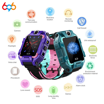 696 Y99 Y99A Children Smart Watch 4G Kids GPS Position Safety Wristband Video Call Bracelet Sports Waterproof Fitness Tracker