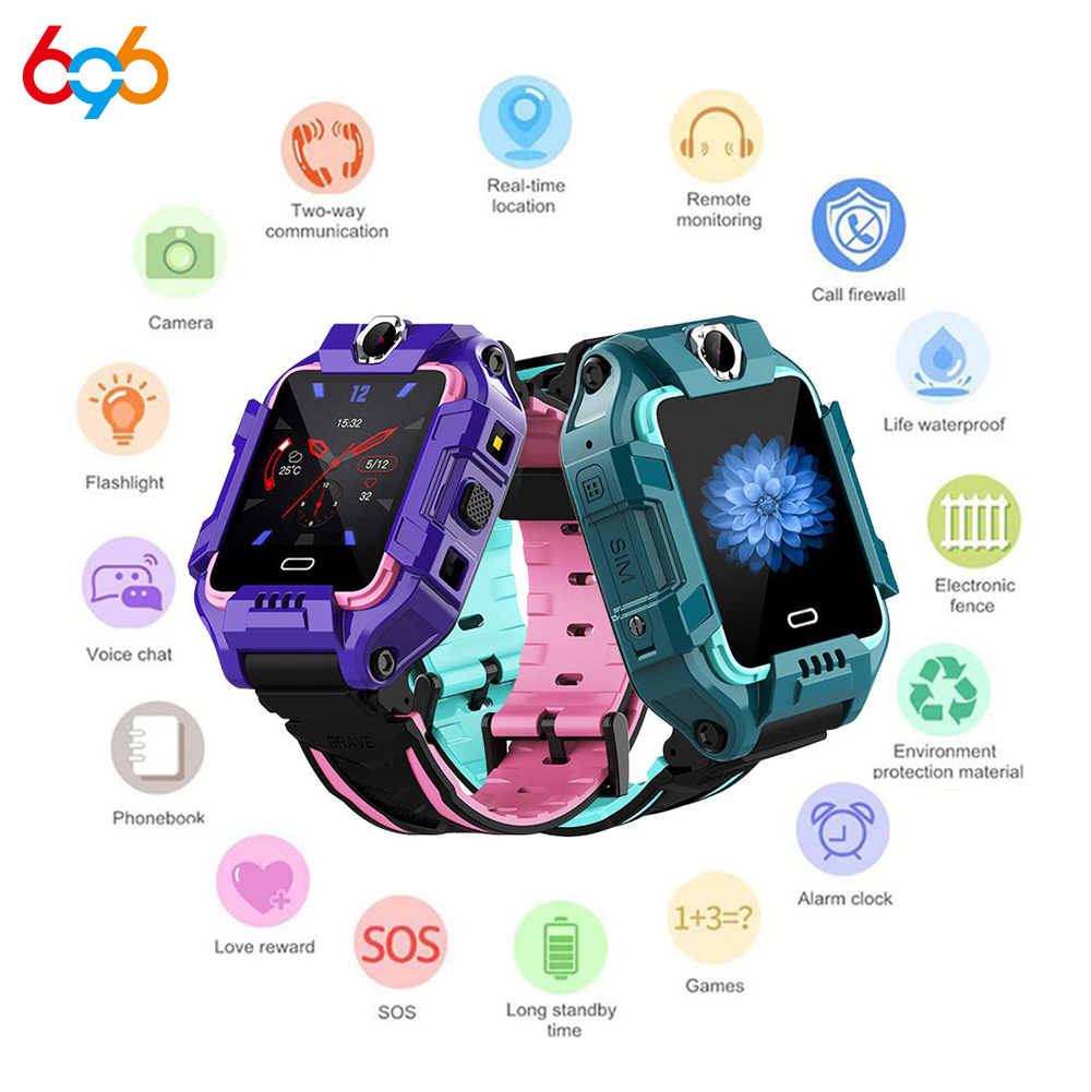 696 Y99 Y99A Kinder <font><b>Smart</b></font> Uhr 4G Kinder GPS Position Sicherheit Armband Video Anruf Armband Sport Wasserdicht Fitness Tracker image