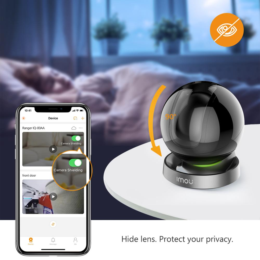 Dahua imou Ranger 2S 1080P Wifi IP Camera Home Security 360 Camera AI Human Detection Baby Phone Camera Night Vision ptz Camera 4