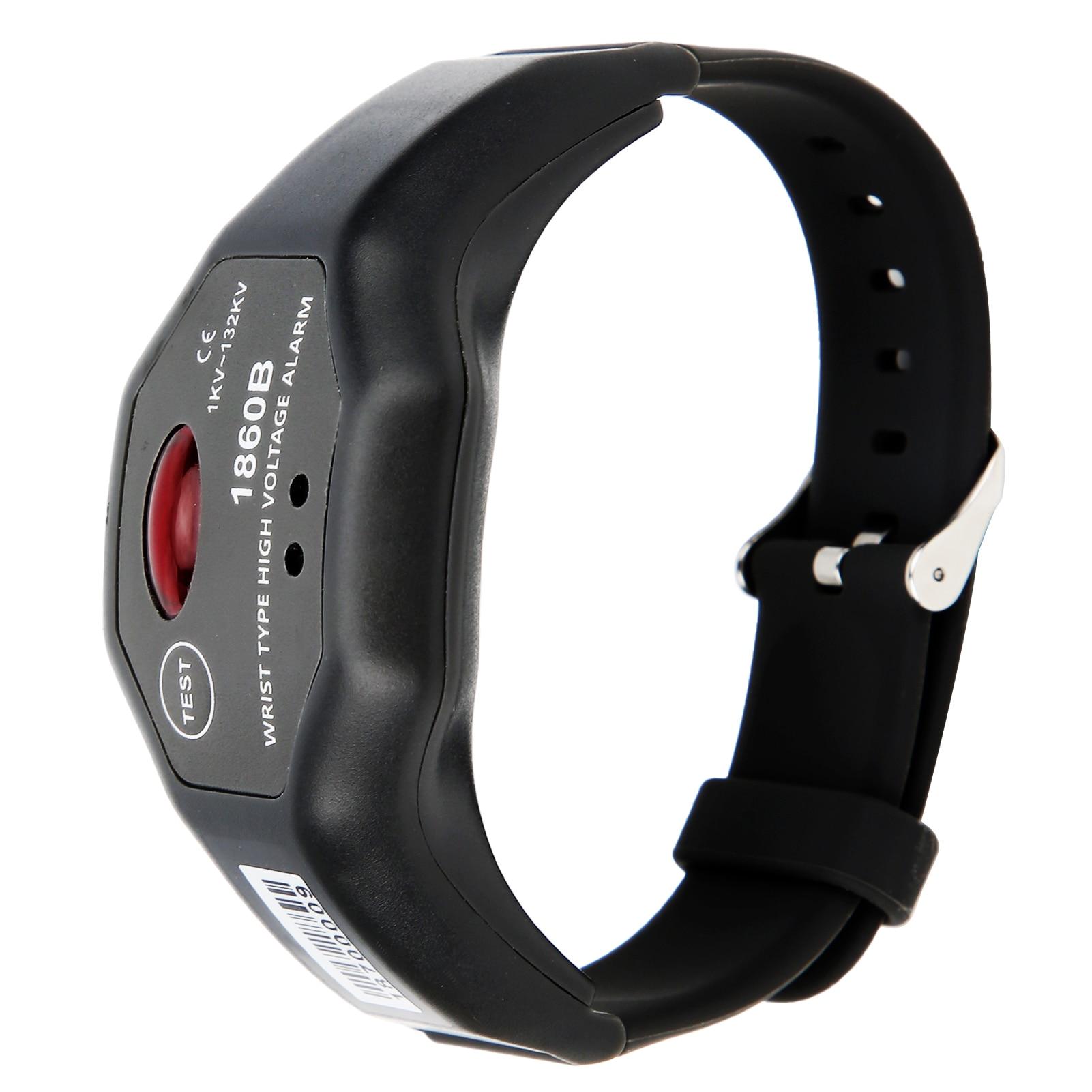 ETCR-1860B 1kv-132kv relógio de pulso detector de alta tensão automático não contact contato detecção de alarme de alta tensão segurança ip54 à prova dwaterproof água