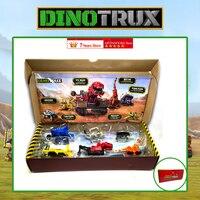 Für Dinotrux Dinosaurier Lkw Abnehmbare Dinosaurier Spielzeug Auto Mini Modelle Neue kinder Geschenke Spielzeug Dinosaurier Modelle Mini kind Spielzeug