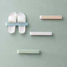 Shelf-Organizer Shoes Hanging-Holder Wall-Slippers Wall-Mounted Storage-Rack Bathroom