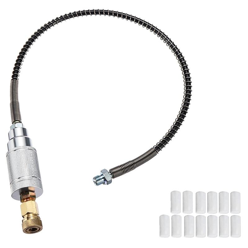 Set 40Mpa 0.5M High Pressure Pcp Air Filter Compressor Oil-Water Separator Hose Filter Core 8Mm M8 Female Thread