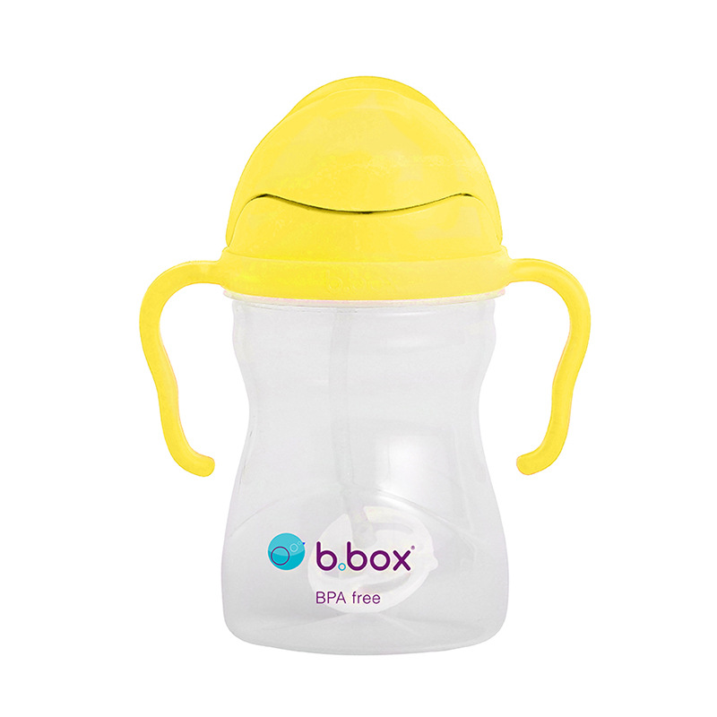 BBOX Children Cup With Straw B. Box Gravity Ball Infant Sippy Cup Drinking Cup With Handle
