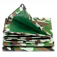 Various Size Thicken Camouflage Tarp Waterproof Tarpaulin for Home Garden Outdoor Sun Shade Sail Customized Size