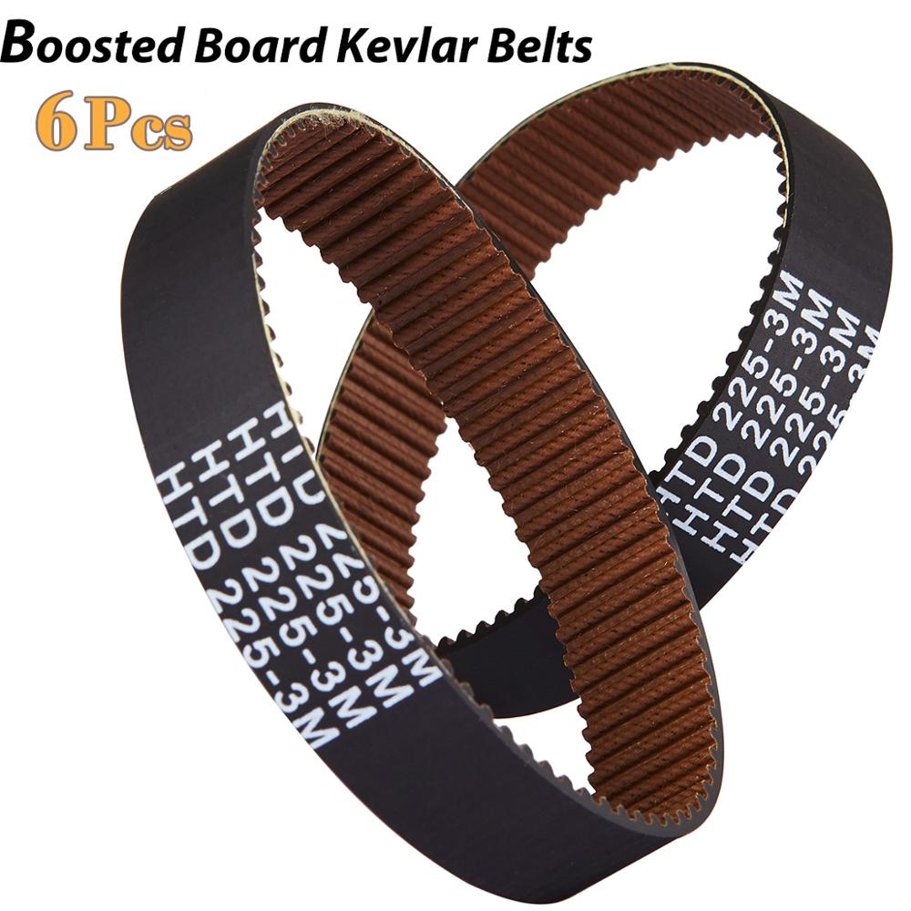 Boosted Board Kevlar Belts For Boosted Board V2, Mini S, Mini X, Plus, And Stealth 6pcs