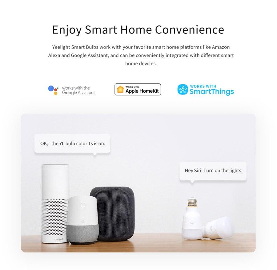 Xiaomi Yeelight Smart LED Bulb 1S -8