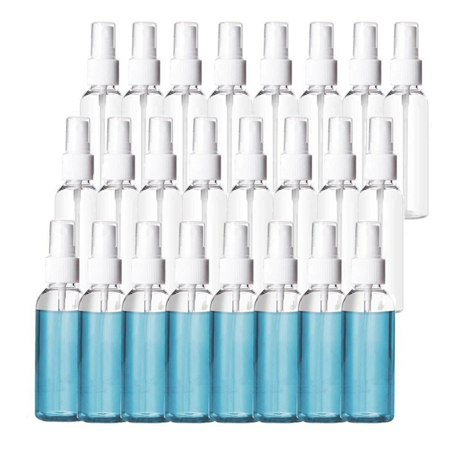 Фото 50ml empty spray bottle disinfection bottlecan be filled with