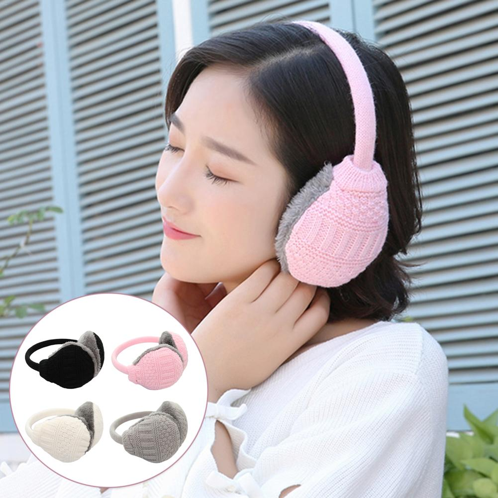 Solid Color Ladies Earmuffs Autumn And Winter Warm And Comfortable Unisex Removable And Washable Ears Winter Ear Cover