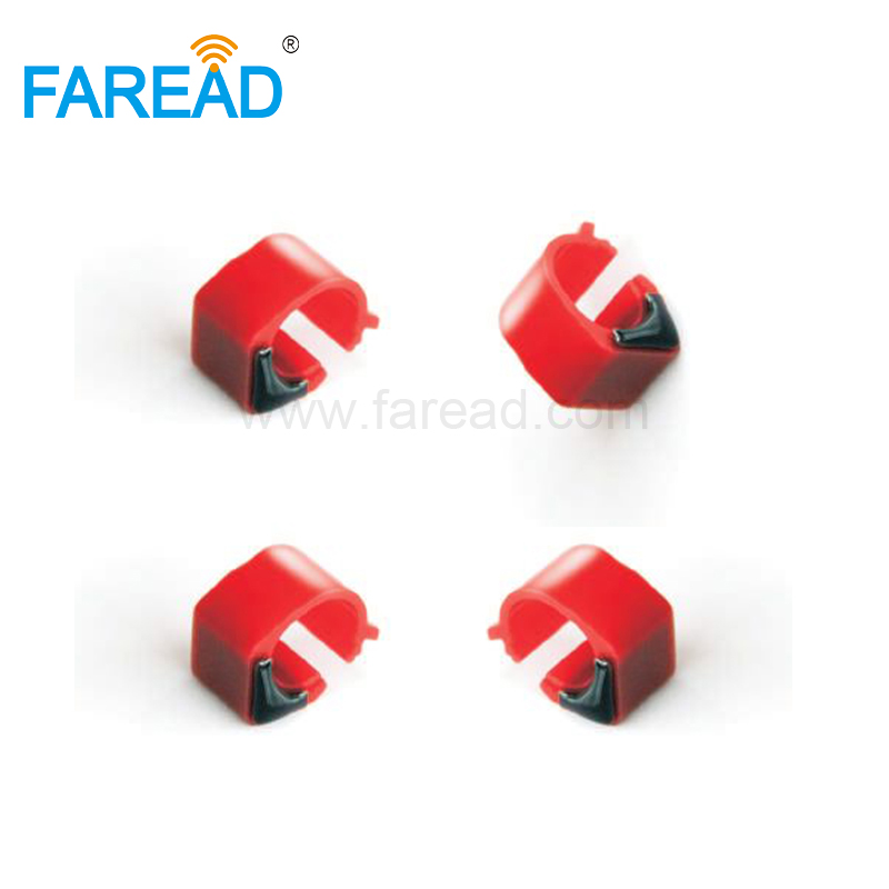 X100pcs 134.2KHz Hitag-S256 FDX-B ABS RFID Racing Pigeon Electronic Foot Ring RFID Tag  For Animal Bird Tracking